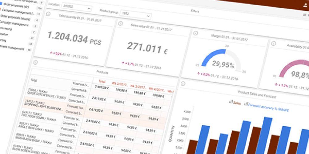 Logiciel S&OP : logiciel de planification industrielle et commerciale